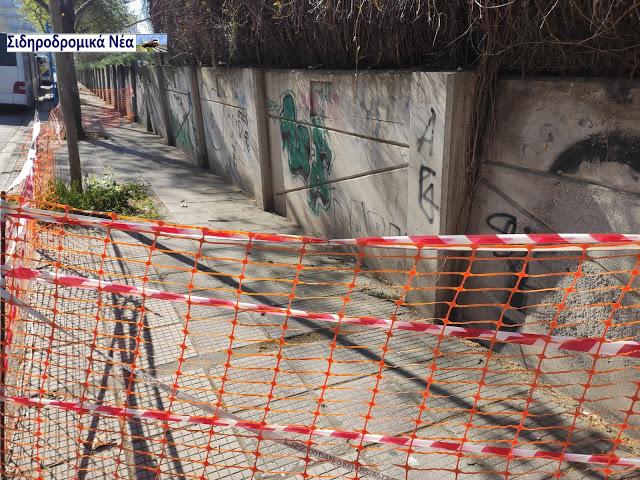 Στη περίφραξη του Σ.Σ. Θεσσαλονίκης: Πλέγμα προστασίας για την ασφάλεια των πολιτών. - Φωτογραφία 2