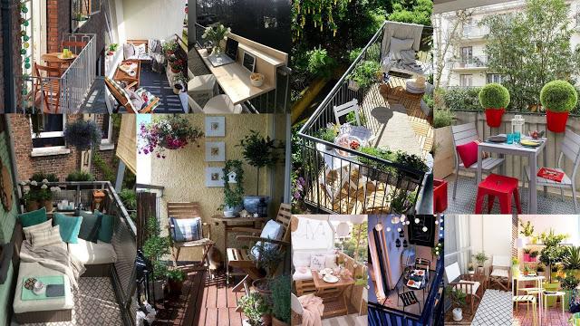 7 Tρόποι για να διαμορφώσετε λειτουργικά ένα μικρό μπαλκόνι για ...δύο - Φωτογραφία 1