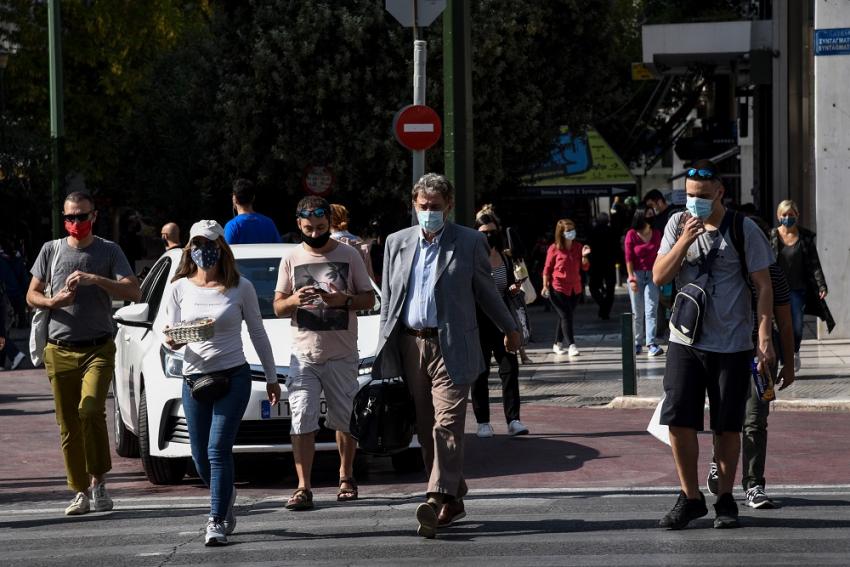 Πού εντοπίστηκαν τα 1.829 κρούσματα: 917 στην Αττική, 225 στη Θεσσαλονίκη, οι περιοχές στο «κόκκινο» - Φωτογραφία 1
