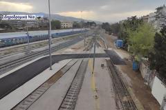 Θεσσαλονίκη: Ολοκληρώθηκαν τα έργα ανακαίνισης στο αμαξοστάσιο της ΤΡΑΙΝΟΣΕ.