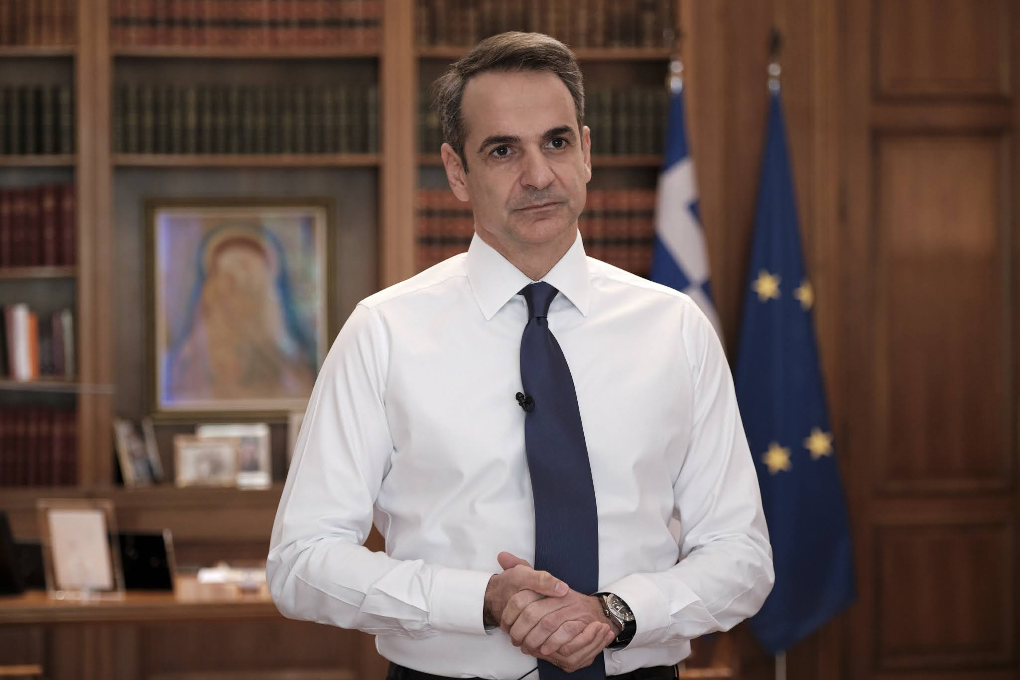 LIVE το μήνυμα του πρωθυπουργού Κυριάκου Μητσοτάκη στους πολίτες - Φωτογραφία 1