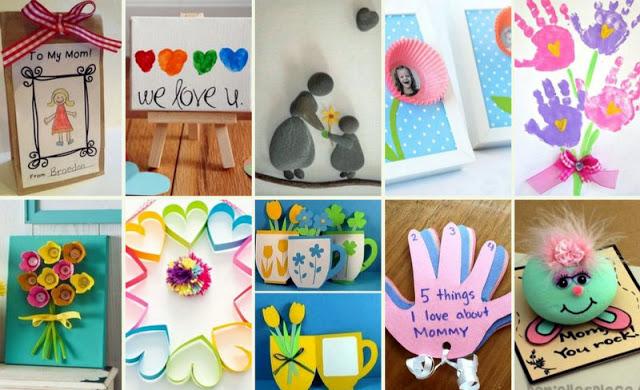 Παιδικές Κατασκευές για την Γιορτή της Μητέρας - Φωτογραφία 1