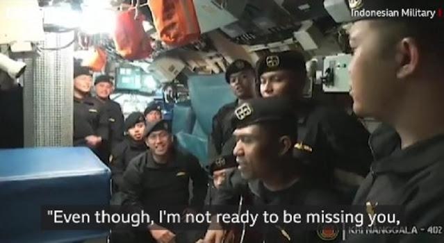 Ινδονησία: ανατριχιαστικό βίντεο λίγες ημέρες πριν ταξιδέψει το μοιραίο υποβρύχιο (Video) - Φωτογραφία 1