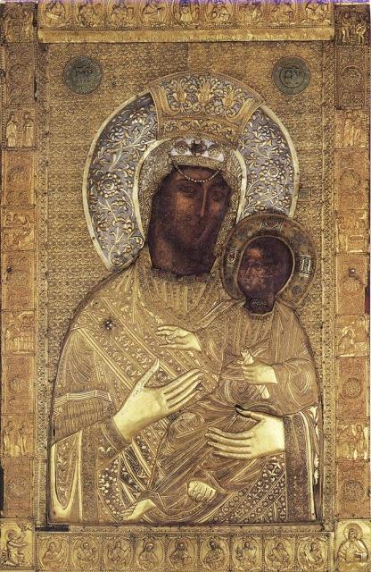 Παναγία Βηματάρισσα ή Κτιτόρισσα, γιατί ονομάστηκε έτσι η εφέστιος εικόνα της Ι. Μ. Βατοπαιδίου - Φωτογραφία 1