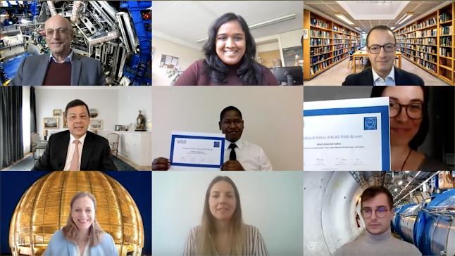 Υποστήριξη ταλαντούχων υποψήφιων διδακτόρων από το πείραμα ATLAS CERN - Φωτογραφία 1