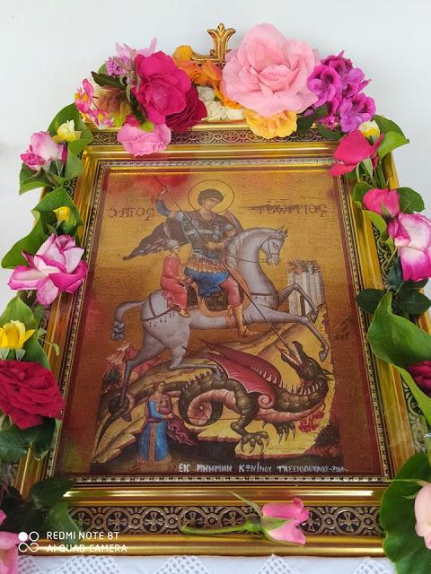 Γιόρτασε το εκκλησάκι του Αγίου Γεωργίου στην ΠΑΛΑΙΟΜΑΝΙΝΑ (φωτογραφίες: Γιάννης Νίτσας) - Φωτογραφία 3