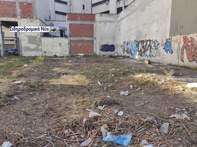 Θεσσαλονίκη: Καθαρίστηκε επιτέλους το πρώην οικόπεδο του ΟΣΕ στην οδό Φράγκων. Εικόνες. - Φωτογραφία 3