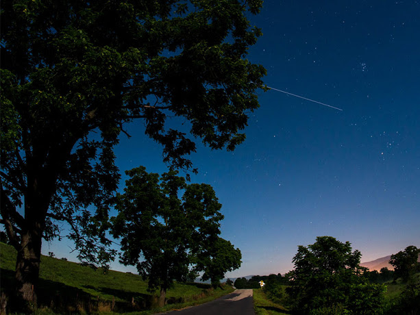 Διέλευση του Διεθνούς Διαστημικού Σταθμού (ISS) σήμερα το βραδυ - Φωτογραφία 1
