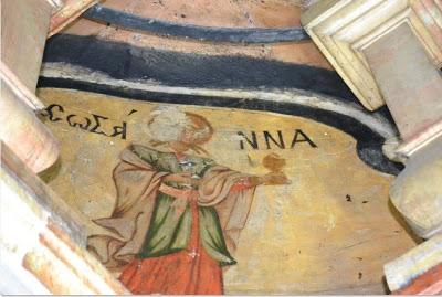 Οι αγιογραφίες της Θεοτόκου και των Αγίων Μυροφόρων γυναικών εντός του κουβουκλίου του Παναγίου Τάφου - Φωτογραφία 1