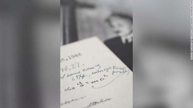 Σε δημοπρασία επιστολή του Einstein - Φωτογραφία 1