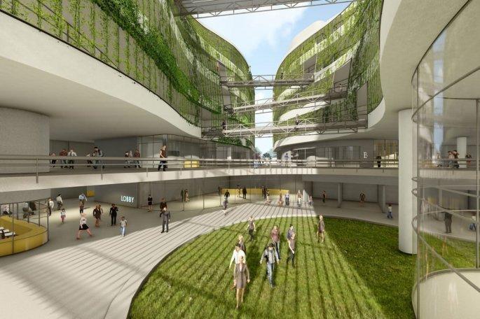 Αυτό είναι το βιοκλιματικό κτίριο που θα στεγάσει όλες τις υπηρεσίες της ΓΓ Υποδομών. - Φωτογραφία 3