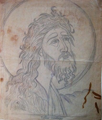 Ο Άγιος Ιωάννης ο Πρόδρομος,ο αγαπημένος άγιος του Κόντογλου - Φωτογραφία 1