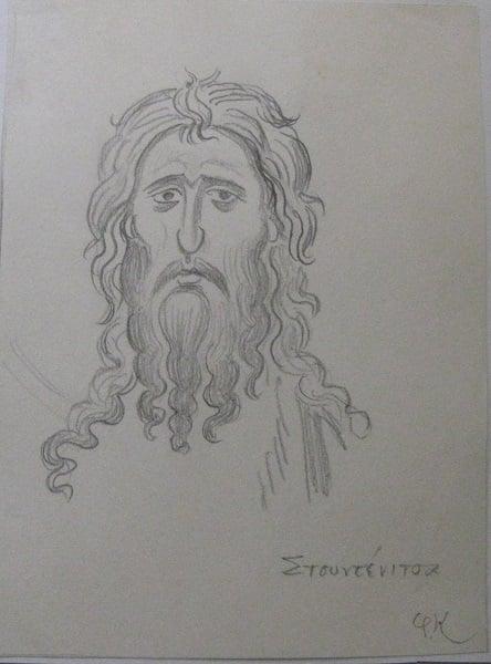 Ο Άγιος Ιωάννης ο Πρόδρομος,ο αγαπημένος άγιος του Κόντογλου - Φωτογραφία 3