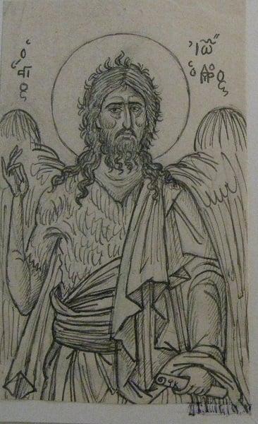 Ο Άγιος Ιωάννης ο Πρόδρομος,ο αγαπημένος άγιος του Κόντογλου - Φωτογραφία 4