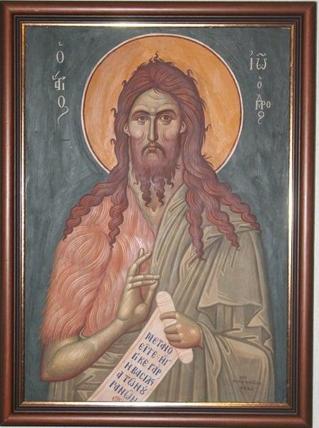 Ο Άγιος Ιωάννης ο Πρόδρομος,ο αγαπημένος άγιος του Κόντογλου - Φωτογραφία 6