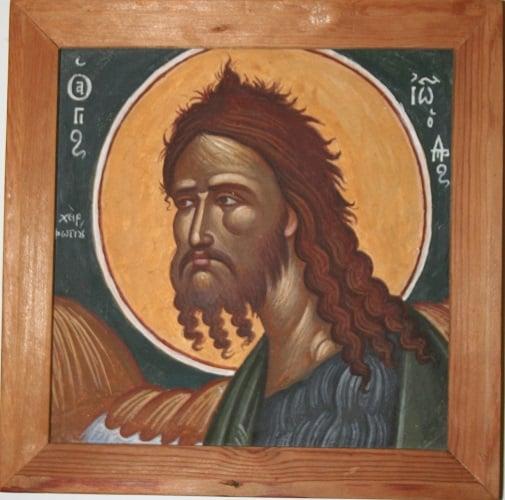Ο Άγιος Ιωάννης ο Πρόδρομος,ο αγαπημένος άγιος του Κόντογλου - Φωτογραφία 7