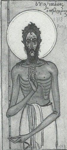 Ο Άγιος Ιωάννης ο Πρόδρομος,ο αγαπημένος άγιος του Κόντογλου - Φωτογραφία 8