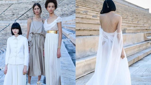 Dior: Η επίδειξη «ξεκίνησε» στα social media - Τα μοντέλα ποζάρουν με τα ρούχα του οίκου στο Καλλιμάρμαρο - Φωτογραφία 1