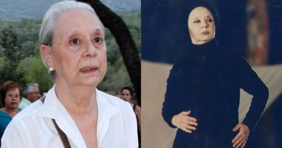 Έφυγε από τη ζωή η σπουδαία ηθοποιός, Μάγια Λυμπεροπούλου.... - Φωτογραφία 1