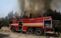Μεγάλη φωτιά στη Μάνδρα – Επιχειρούν πέντε αεροσκάφη και δύο ελικόπτερα