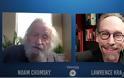 Lawrence  Krauss Οι νεότερες σκέψεις για το Αφγανιστάν με τον Noam Chomsky