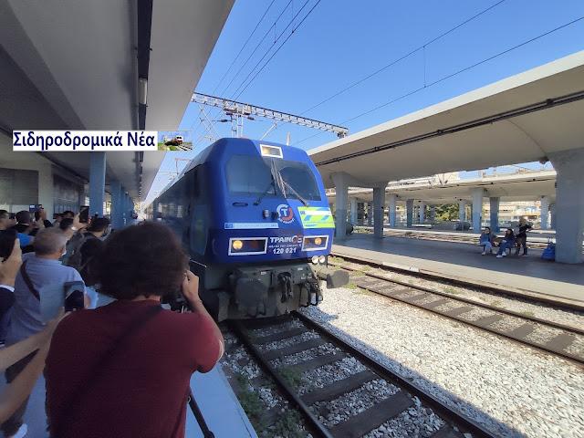 Έφτασε στη Θεσσαλονίκη το Connecting Europe Express. Εικόνες. - Φωτογραφία 1