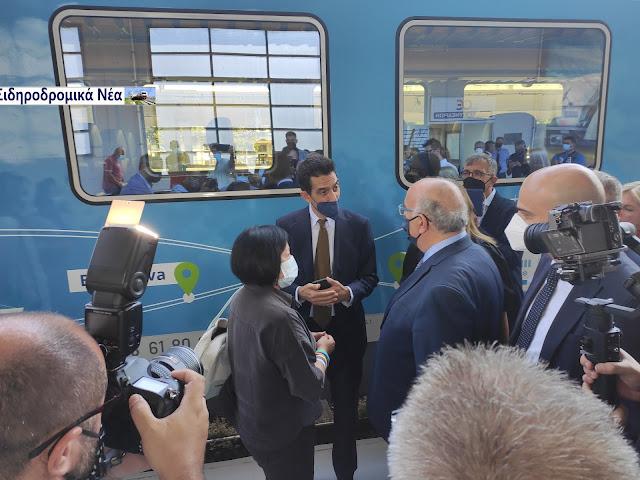 Έφτασε στη Θεσσαλονίκη το Connecting Europe Express. Εικόνες. - Φωτογραφία 2