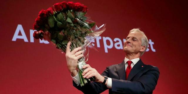 Εκλογές Νορβηγία: Μεγάλοι νικητές οι κεντροαριστεροί - Παραδέχτηκε την ήττα η πρωθυπουργός Σόλμπεργκ - Φωτογραφία 1