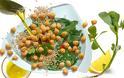 Μιά πεντανόστιμη και θρεπτικότατη σαλάτα με γλιστρίδα και ρεβίθια