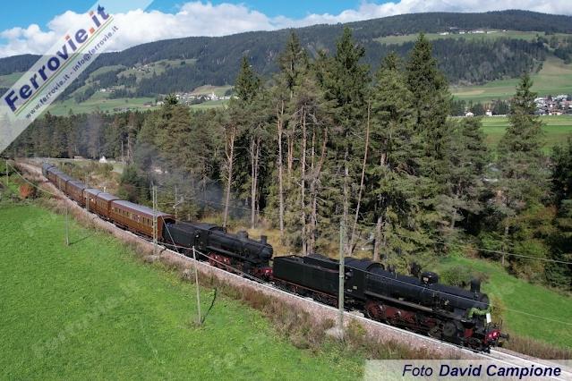 Στο Νότιο Τιρόλο της Ιταλίας  εόρτασαν την  150η επέτειο του σιδηροδρόμου της  Val Pusteria. Εικόνες και βίντεο - Φωτογραφία 1