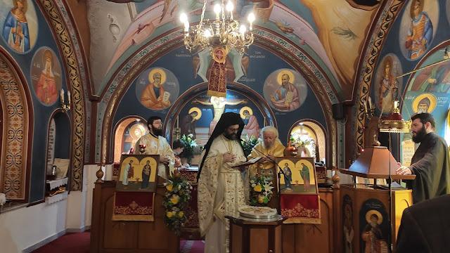 Τον προστάτη τους Άγιο Απόστολο και διάκονο Φίλιππο τίμησαν στη Θεσσαλονίκη οι σιδηροδρομικοί. - Φωτογραφία 1