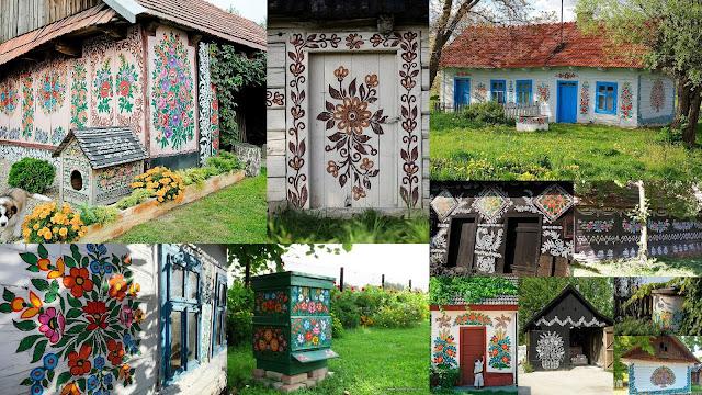 Το πολύχρωμο ...ζωγραφισμένο χωριό - Φωτογραφία 1