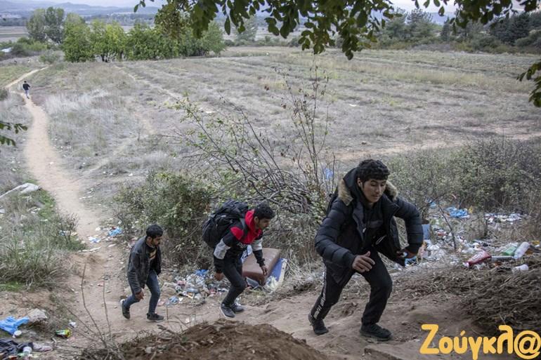 Πυκνώνουν οι ροές των μεταναστών στην Ειδομένη. - Φωτογραφία 2