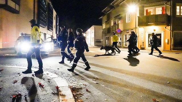 Νορβηγία: Επίθεση τοξοβόλου στην πόλη Κόνγκσμπεργκ - Τουλάχιστον 5 νεκροί - Για 30 λεπτά στόχευε ανθρώπους - Φωτογραφία 1