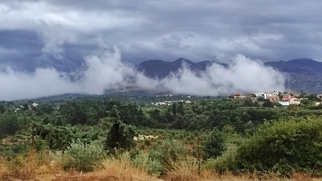 Απίστευτες εικόνες από την καταιγίδα που χτύπησε την Κρήτη (Pic) - Φωτογραφία 1