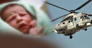 Επιχείρηση αεροδιακομιδής νεογνού από τη Ρόδο στο ΠΑΓΝΗ - Φωτογραφία 1