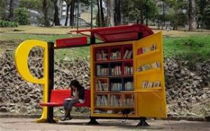Στάση-βιβλιοθήκη στην «ταραγμένη» Μπογκοτά - Φωτογραφία 1