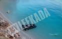 ΔΕΙΤΕ: Αυτοκίνητο βούτηξε σε πολυσύχναστη πλαζ στη Λευκάδα! - Φωτογραφία 2
