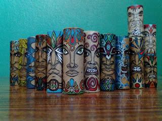 Εντυπωσιακές φιγούρες σε ρολά χαρτιού! - Φωτογραφία 1