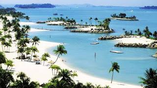 Ένα νησί με τεχνητές παραλίες [pics] - Φωτογραφία 1