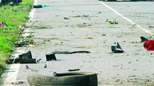 Τροχαίο ατύχημα στην Εθνική Οδό Αθηνών - Λαμίας - Φωτογραφία 1