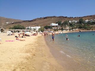 Παραλίες της Ελλάδας: Μύκονος - Πάνορμος - Φωτογραφία 2
