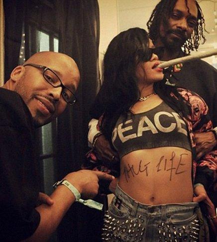Rihanna: Ένα αστέρι πέφτει (πέφτει, πέφτει, πέφτει...) - Φωτογραφία 8