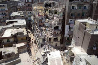 Αίγυπτος: 19 νεκροί από κατάρρευση κτιρίου - Φωτογραφία 1