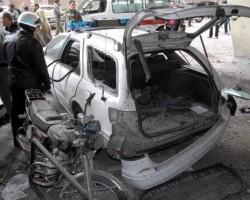 Τέσσερις τραυματίες από βομβιστική επίθεση στη Δαμασκό - Φωτογραφία 1