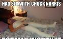 ΔΕΙΤΕ: Η  γυναίκα που τόλμησε να κοιμηθεί με τον Chuck Norris… - Φωτογραφία 2