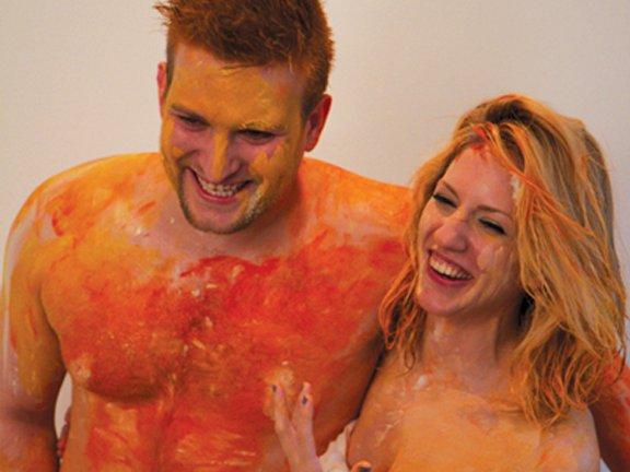 Αυτό πως και ξέφυγε από τους δικούς μας καλλιτέχνες: Κάνουν σεξ και…ζωγραφίζουν  (φώτο) - Φωτογραφία 2