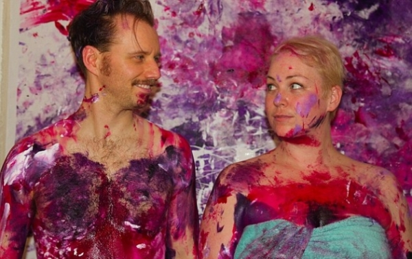 Αυτό πως και ξέφυγε από τους δικούς μας καλλιτέχνες: Κάνουν σεξ και…ζωγραφίζουν  (φώτο) - Φωτογραφία 3
