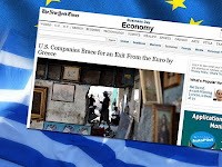 ΝΥΤ: Αμερικανικές εταιρείες ετοιμάζονται για έξοδο της Ελλάδας...!!! - Φωτογραφία 1