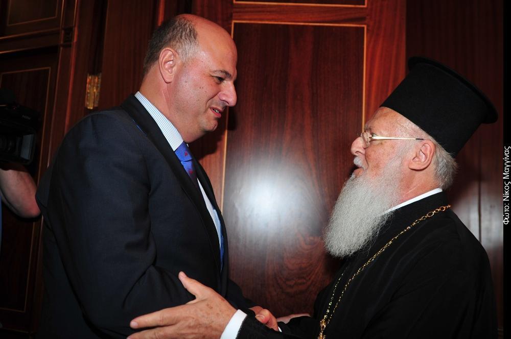 Kων. Τσιάρας: «Προτεραιότητα της Ελλάδας η στήριξη του Οικουμενικού Πατριαρχείου» - Φωτογραφία 1